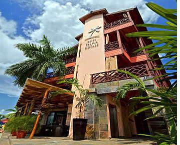 Palma Royale à Bocas del Toro, Panama