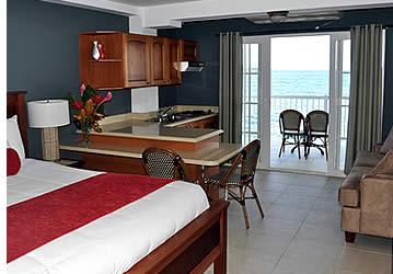 Chaque suite au sein de Tropical Suites est spacieuse et très confortable